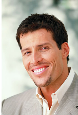 Tony Robbins business message…warning!